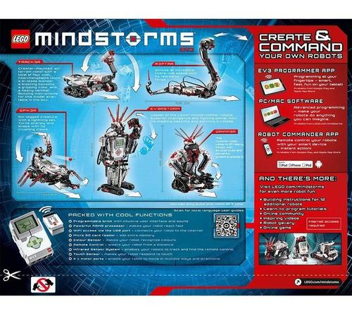 lego 31313 mindstorms ev3 internet smart robot control wifi