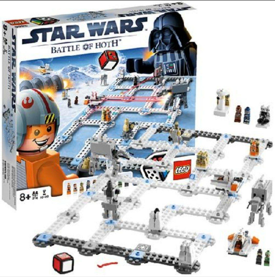 Lego 3866 Star Wars Battle Of Hoth Juego De Mesa 1 850 00 En
