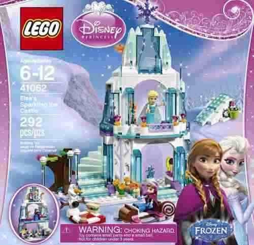 lego 41062 frozen el brillante castillo de hielo elsa