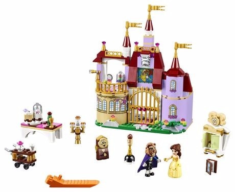 lego 41067 disney princesas el castillo de bella mundomanias