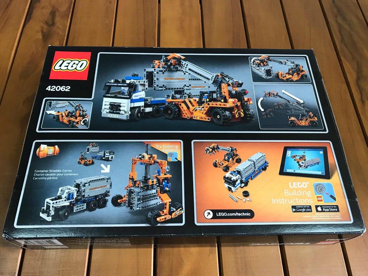 Lego 42062 - Carregamento De Containers