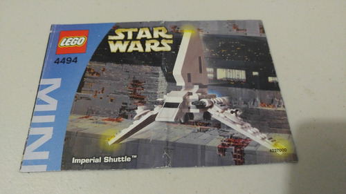 lego 4494 imperial shuttle star wars instructivo o manual