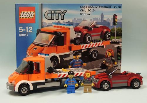 lego 60017 camión de plataforma