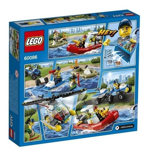 lego 60086 city starter set vehiculos y fig 242pcs bigshop