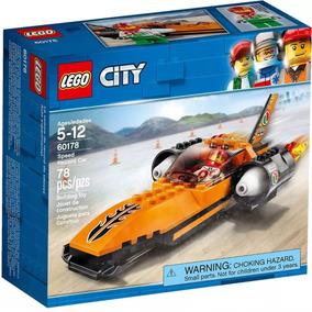 Lego City Playking Original 60178 Carrera De Auto OwXkP8n0
