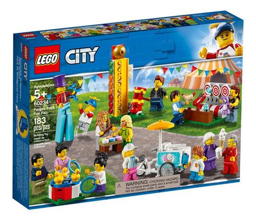 lego - 60234 set de minifiguras de la feria