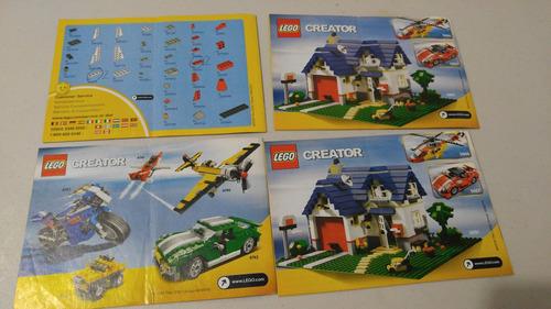 lego 6741 6742 5864 5865 creator instructivo manual