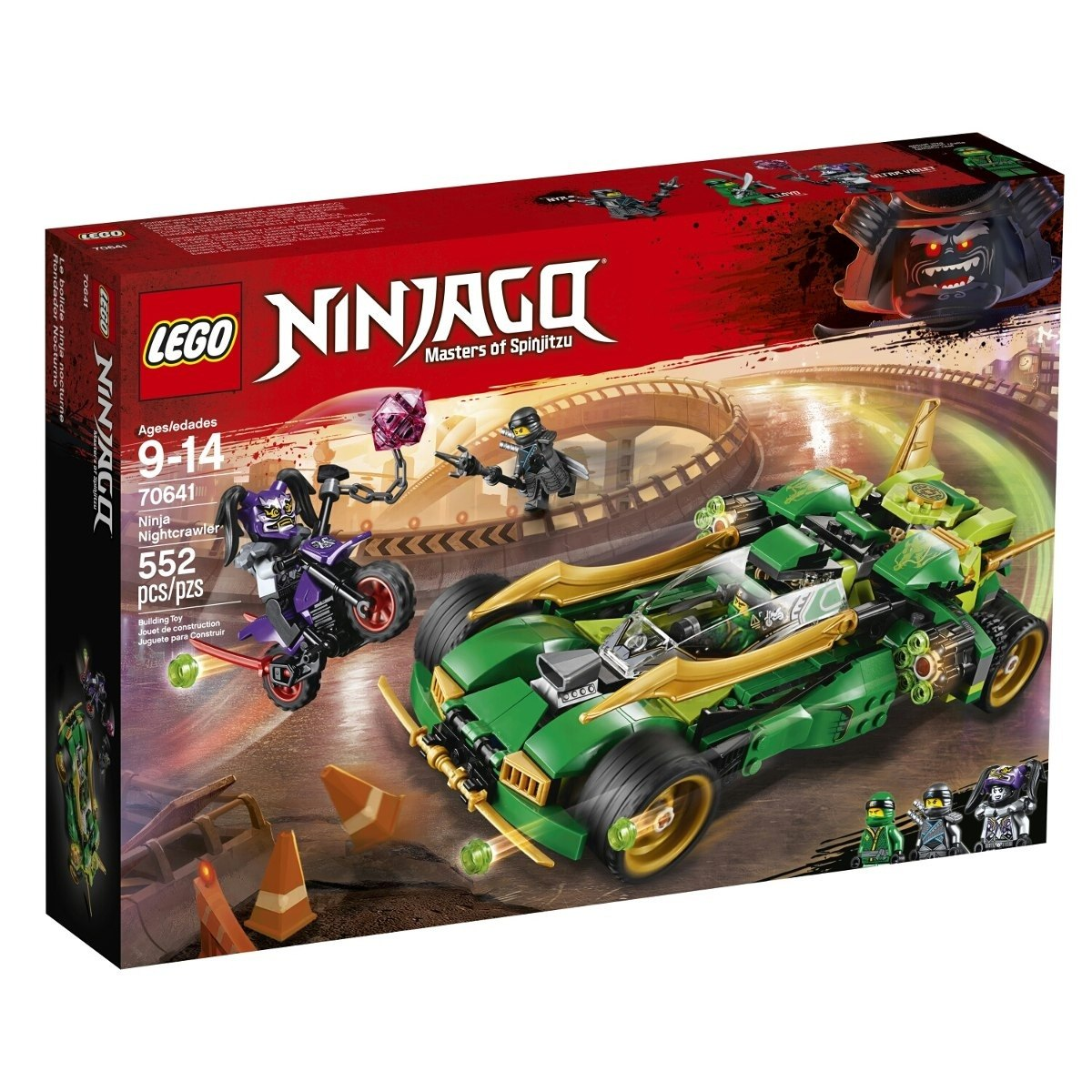 Lego 70641 Ninjago: Raptador Ninja Nocturno Collagekidsar