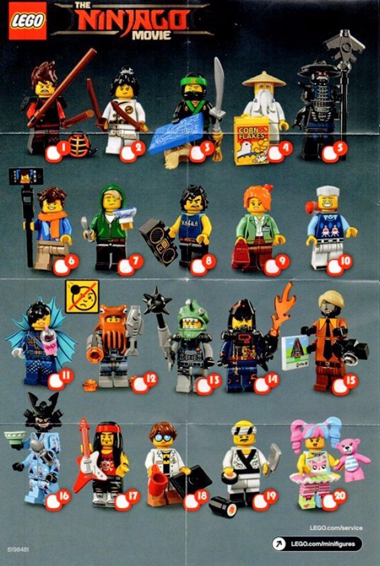 MUNDO MANIAS | Lego 71019 Ninjago Bolsita Sobre Sorpresa ...
