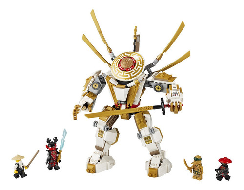 lego - 71702  robot dorado