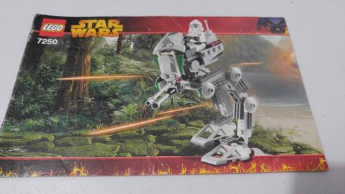 lego 7250 clone scout walker star wars instructivo o manual