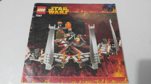 lego 7257 ultimate lightsaber star wars instructivo o manual