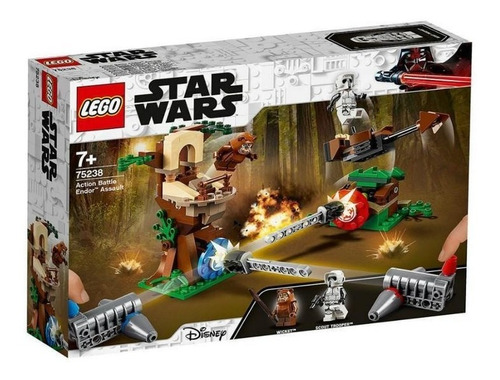 lego 75238 action battle: asalto a endor