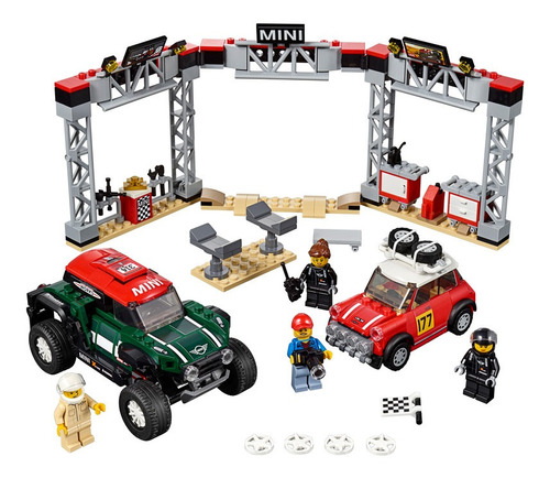 lego - 75894 mini cooper s y john cooper works