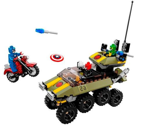 lego 76017 set capitan america vs hydra marvel super heroes