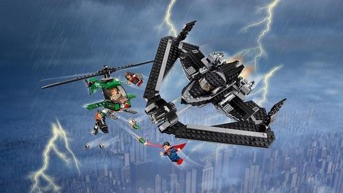 lego 76046 heroes de la justicia batalla aerea dc comics bs