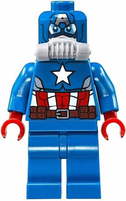 3822cabdcdf44 Lego 76048 Super Heroes Ataque Submarino Do Caveira De Ferro - R ...