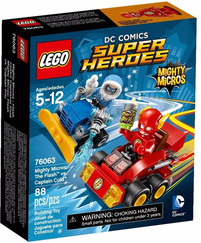 lego 76063 super heroes flash vs. capitan frio mundo manias