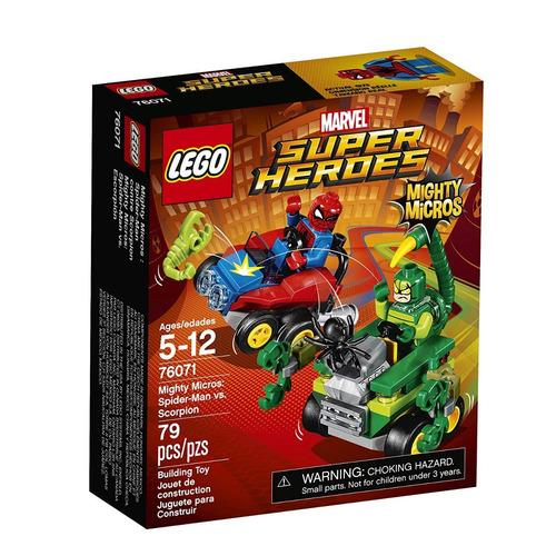 lego 76071 mighty micros spiderman vs scorpion (1049)