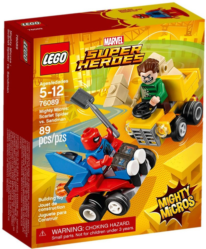 lego 76089 mighty micros scarlet spider vs sandman