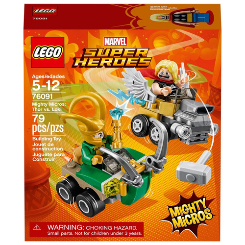 lego 76091 - mighty micros thor vs loki (1012)