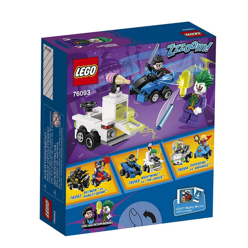 lego 76093 - mighty micros nightwing vs the joker (1021)