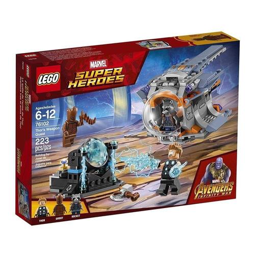 lego 76102 aventura tras el arma de thor (1025)