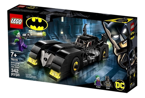 lego 76119 dc comics | batmobile pursuit of the joker