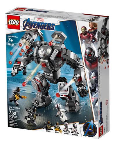 lego - 76124 set endgame war machine