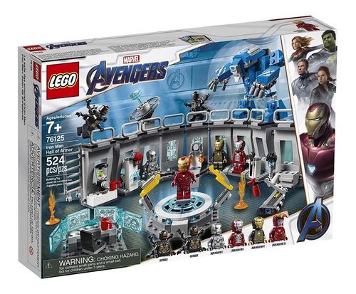 lego 76125  iron man avengers 524 pcs super construcion
