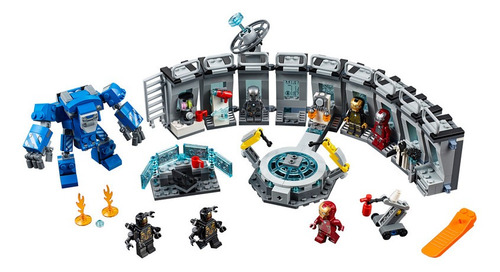 lego - 76125 set endgame iron man