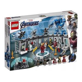 Lego 76125 Vingadores Ultimato ¿ Salão Armaduras Homem Ferro