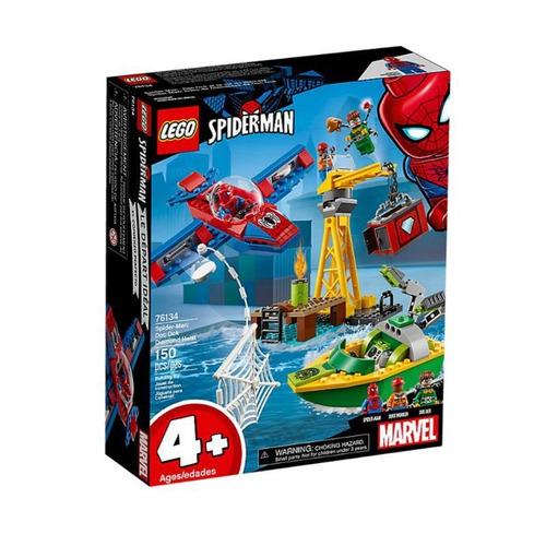 lego 76134 spider-man: robo de diamantes de doc ock