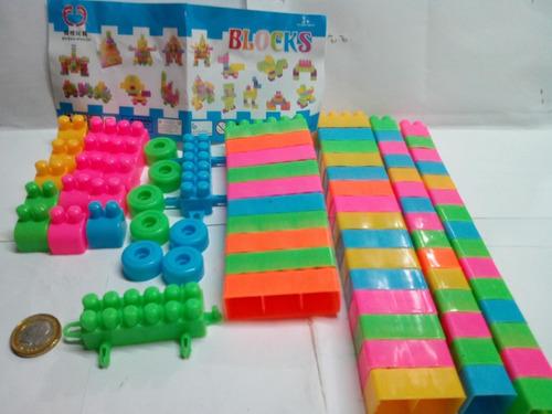 lego 80 piezas juguete bloques tacos didácticos regalo niño
