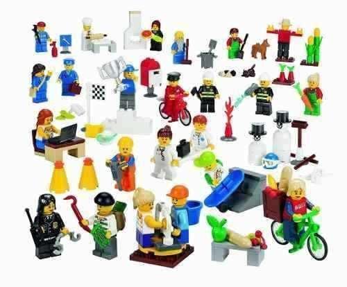 lego 9348 set mini figuras educación comunitaria 256 piezas