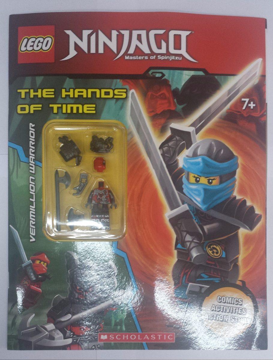 Lego Activity Book The Hands Of Time Ninjago R 6155 Em Carregando Zoom