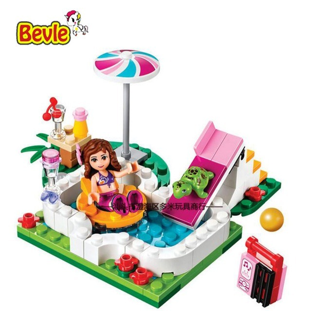 Lego alterno friends piscina stephanie jardin tortuga s - Lego friends piscina ...