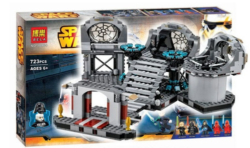 lego alterno star wars duelo final death star halcon 75093