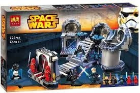 lego alterno star wars duelo final death star halcon 75093