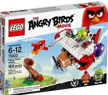 lego angry birds 75822 piggy plane attack nuevo y original