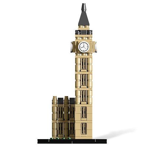 lego architecture 21013 big ben (descontinuado por el fabric