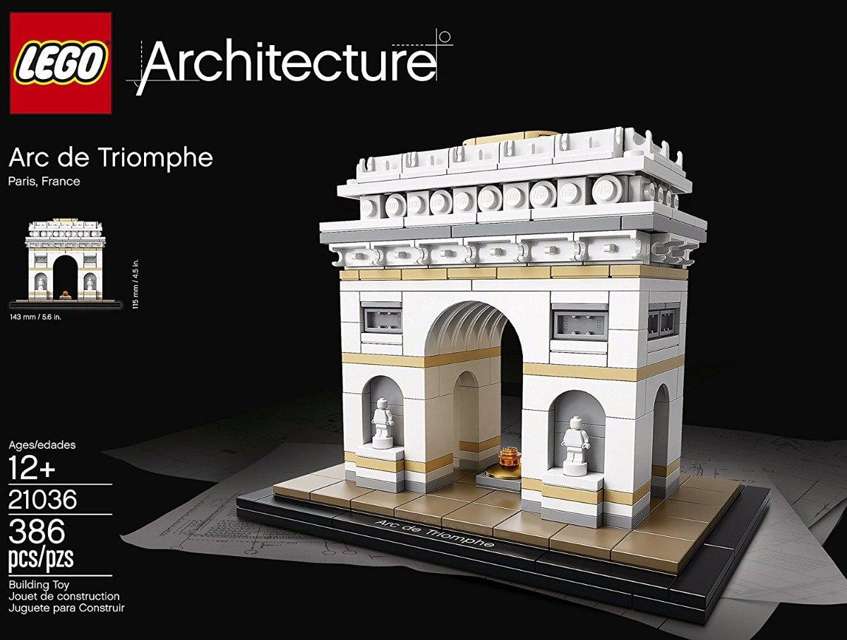 lego architecture arco del triunfo 21036 arquitectura 1 en mercado libre. Black Bedroom Furniture Sets. Home Design Ideas
