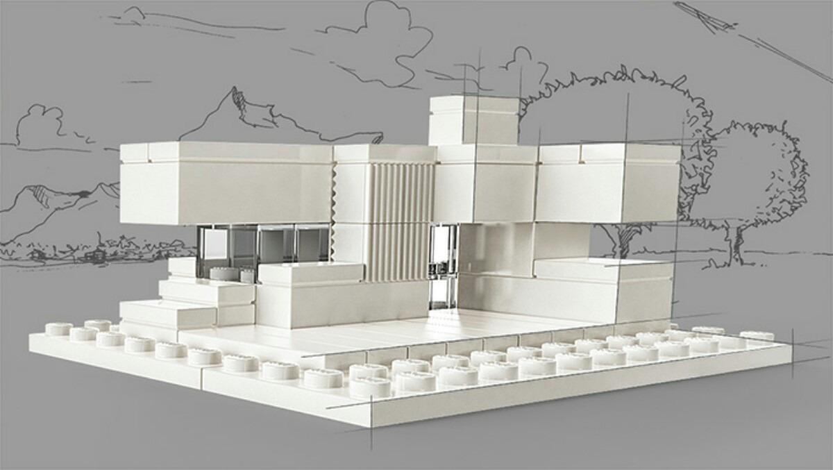 lego architecture studio en mercado libre. Black Bedroom Furniture Sets. Home Design Ideas