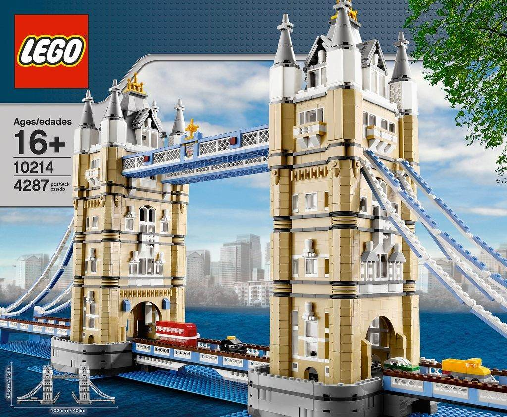 Lego architecture tower bridge modelo 10214 9 for Architecte tower bridge