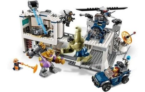 lego avengers end game thanos compatible con lego 699 piezas