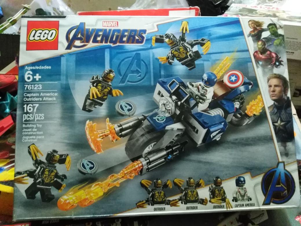 76123 Lego Avengers OutriderRegal Captan América Endgame DYE9IW2H