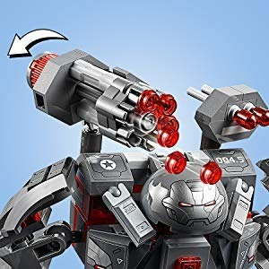 lego avengers endgame 76124 depredador de máquina de guerra