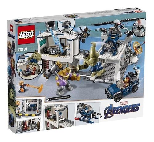 lego avengers  endgame set 76131 avengers compound battle