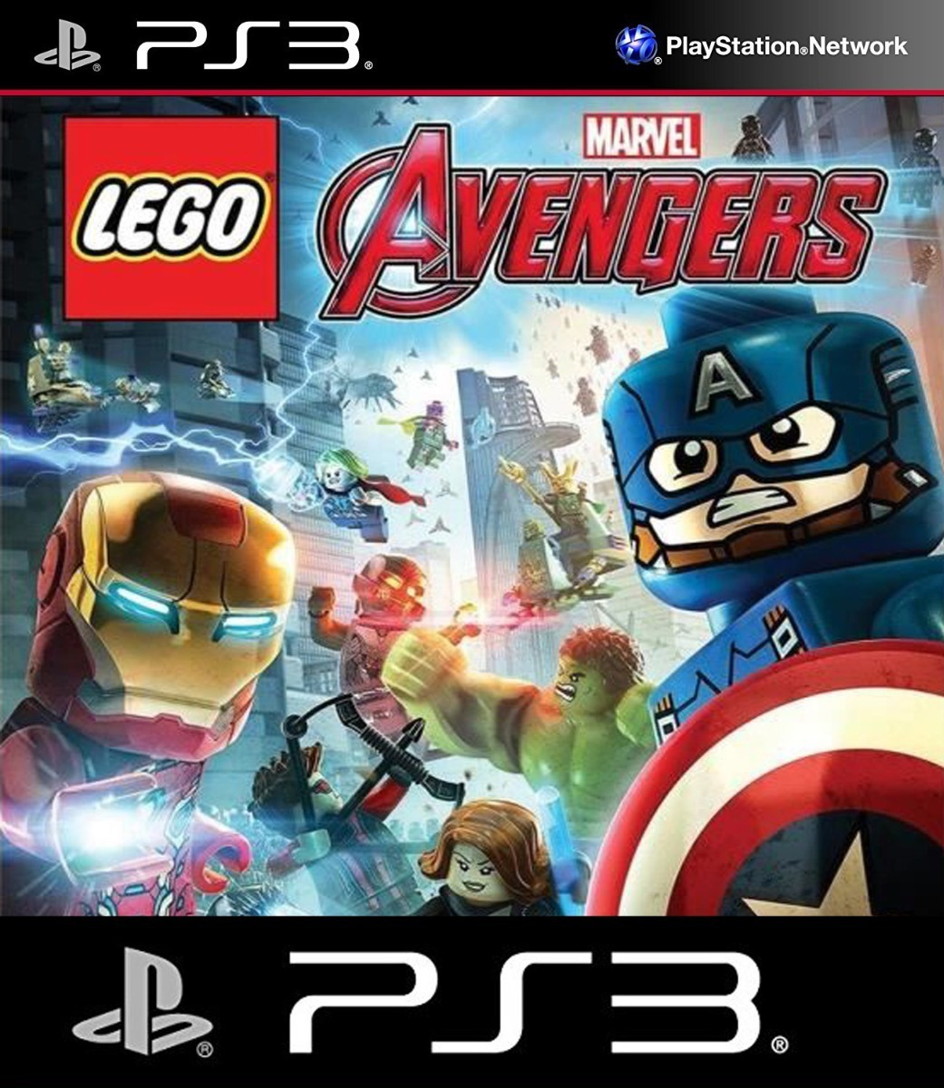 LEGO Marvel Vengadores (SEMINUEVO)