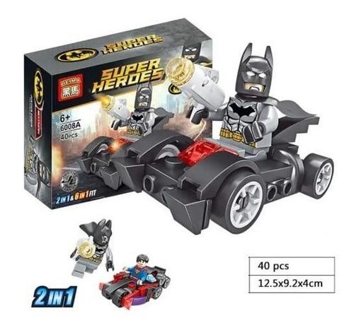 lego avengers vehículos juguete didáctico x6 juguetería